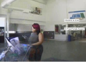 CC Fraud Female Suspect 7-25-16-Featured